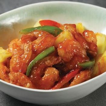 Butterfly Shrimps in Tomato Sauce