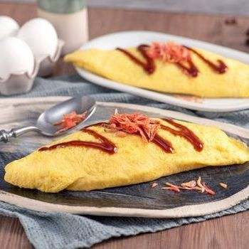 Chinese omelet rice
