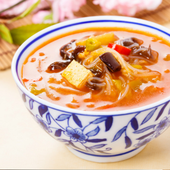 Recipe Hot and Sour Soup with premium Soy Sauce