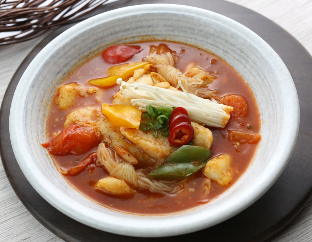 Recipe New Style Fish Fillet in Hot and Spicy Soup
