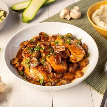 "Oyster Sauce Braised Chicken with Mushrooms"" (Default Alternate Text: ""Recipe Oyster Sauce Braised Chicken with Mushrooms S"