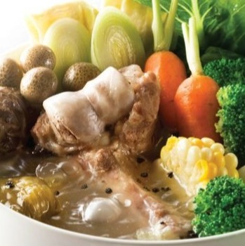 Black Pepper & Pork Bone Hot Pot