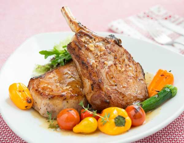 Recipe Garlic Flavored Black Pepper Pork Chop