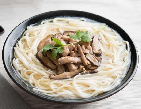 Recipe Mushroom and Pork Noodle Soup