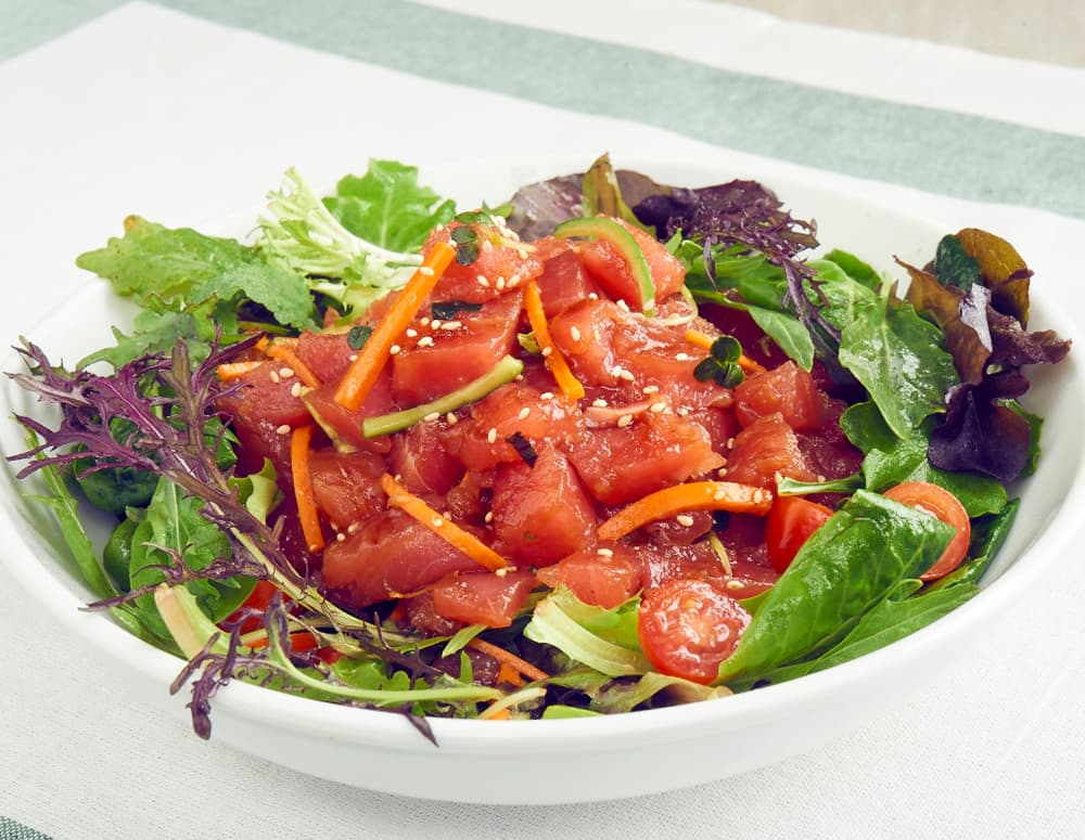 Recipe Tuna Poke Salad